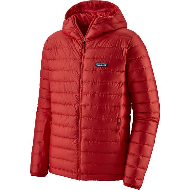 Patagonia Down Sweater Hoody Jacket - Fire w/Fire