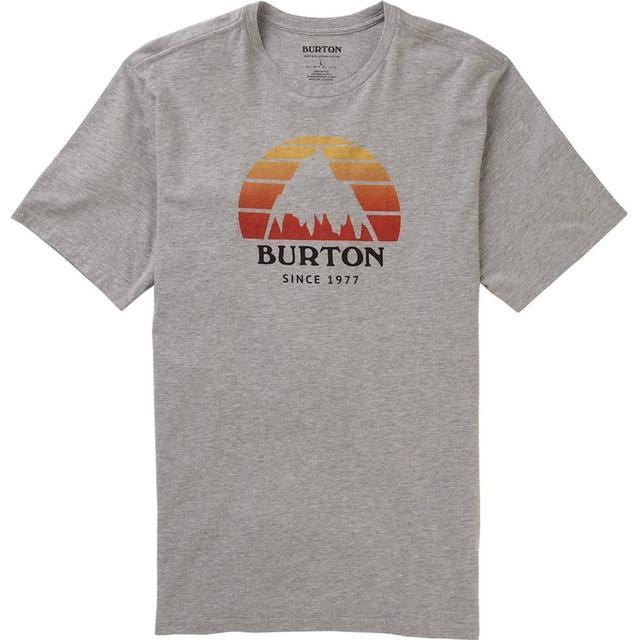 Burton Underhill Short Sleeve T-shirt Unisex - Gray Heather