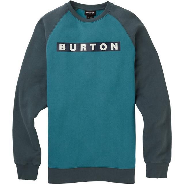 Burton Vault Crew Sweatshirt - Storm Blue