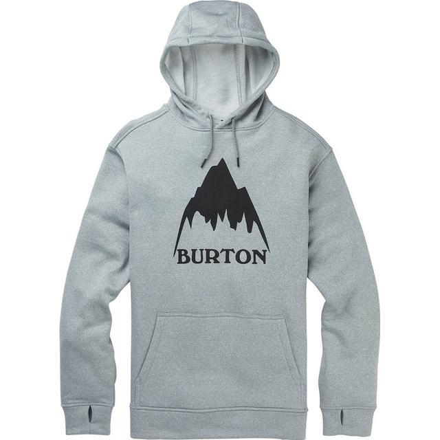 Burton Oak Pullover Hoodie - Mountain Gray Heather