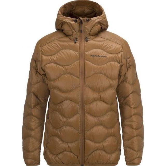 Peak Performance Helium Hood Jacket - Honey Brown