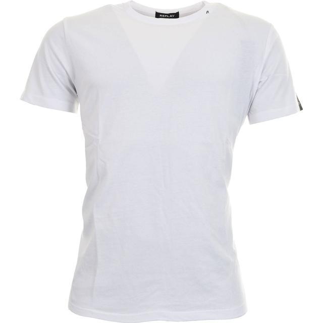 Replay Crew Neck Cotton T-shirt - White