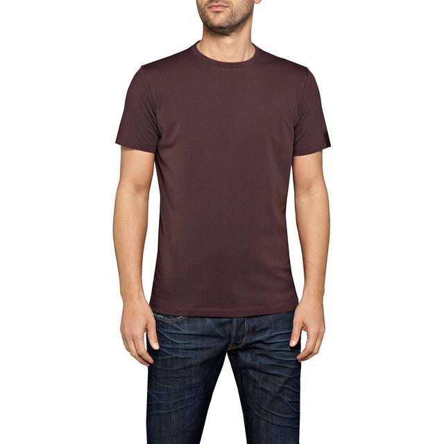 Replay Crew Neck Cotton T-shirt - Plum