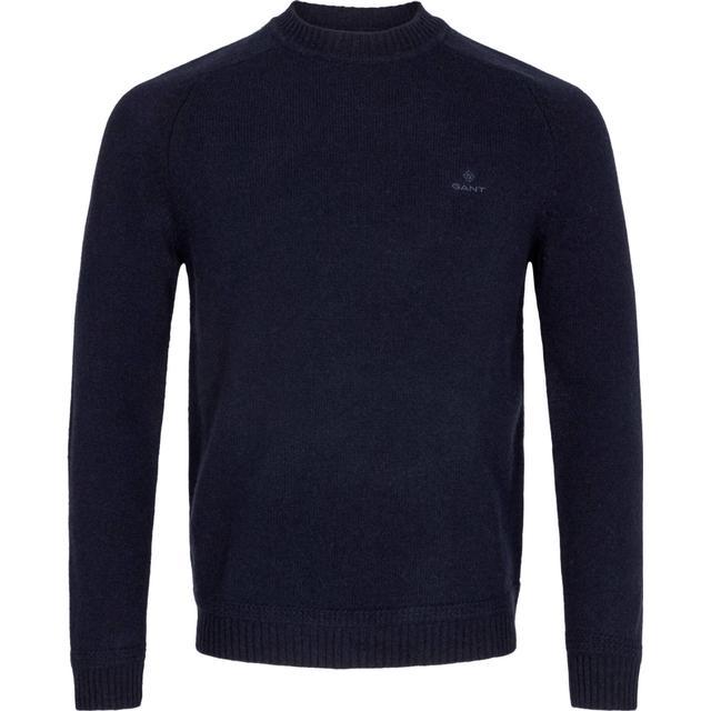 Gant Shetland Crew Sweater - Evening Blue