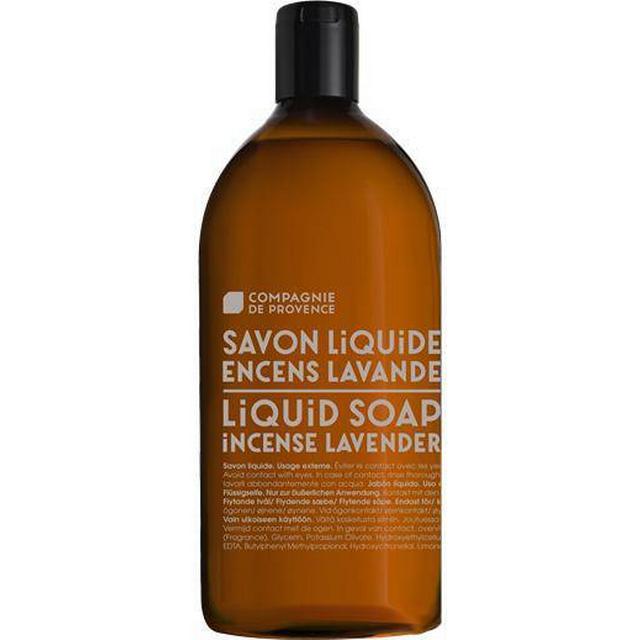 Compagnie de Provence Liquid Soap Incense Lavender 1L Refill