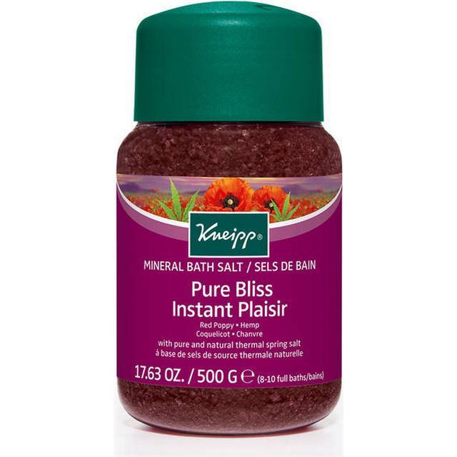 Kneipp Pure Bliss Red Poppy & Hemp Bath Salt 500g