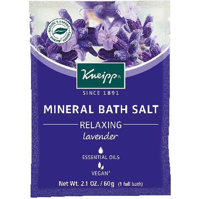 Kneipp Relaxing Mini Lavender Mineral Bath Salt 60g