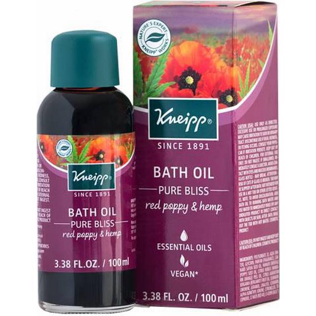 Kneipp Pure Bliss Red Poppy & Hemp Bath Oil 100ml