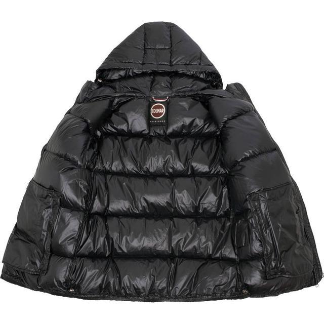 Colmar Blaze High Shine Down Hooded Jacket Black