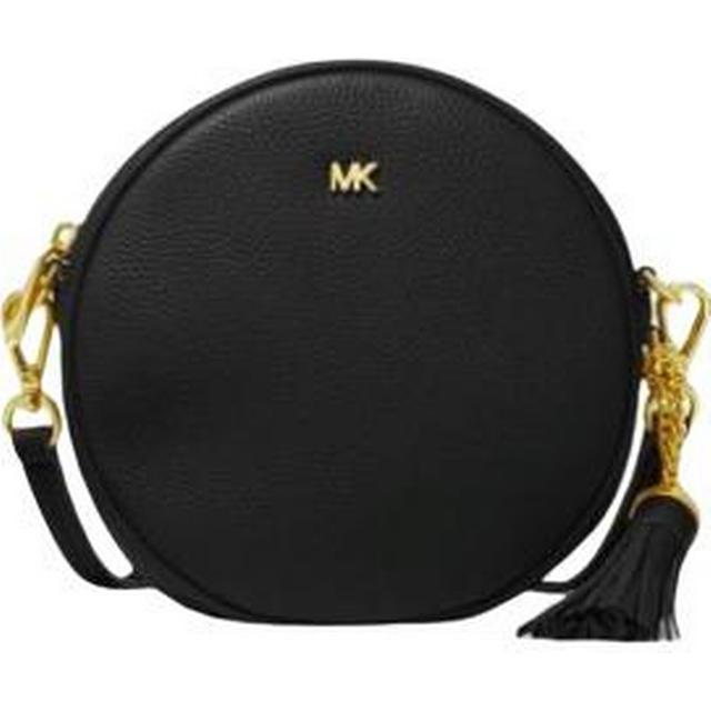 Michael Kors Pebbled Leather Canteen Crossbody Black