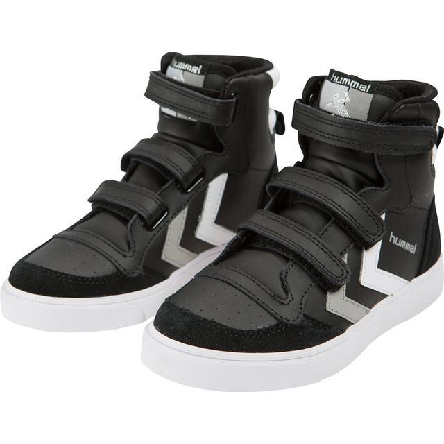 Hummel Kid's Stadil Jr Leather High Black Sammenlign
