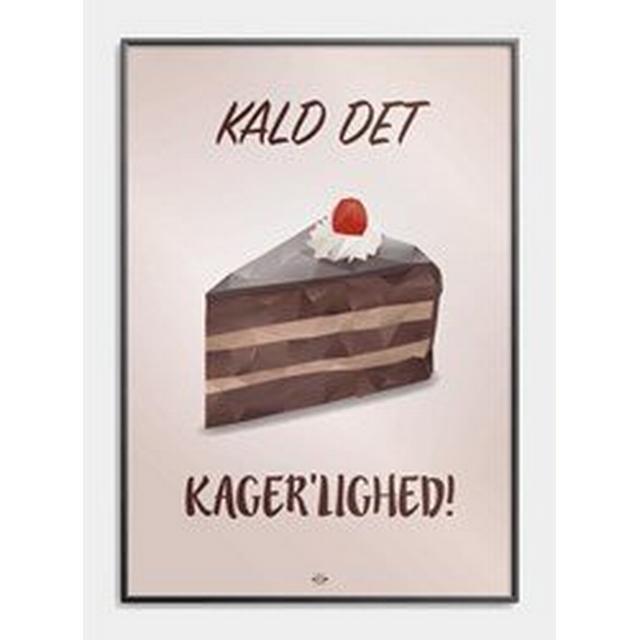 Citatplakat Kager'lighed 30x42cm Plakater