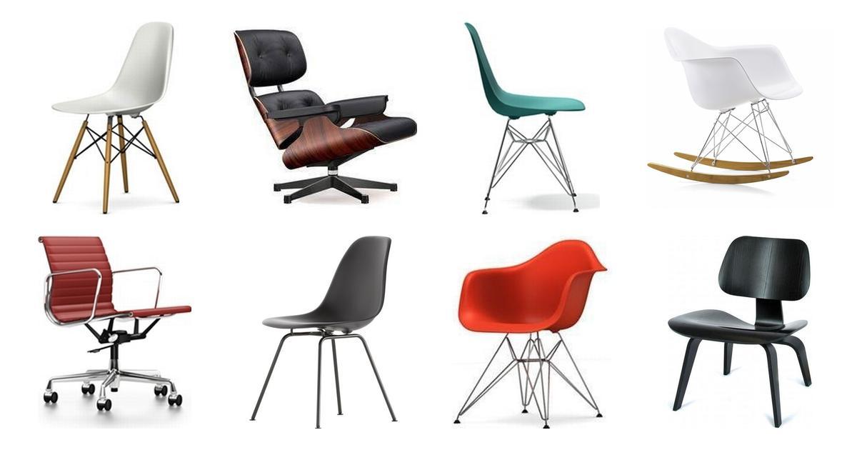 Eames stol • Find billigste pris hos PriceRunner og spar
