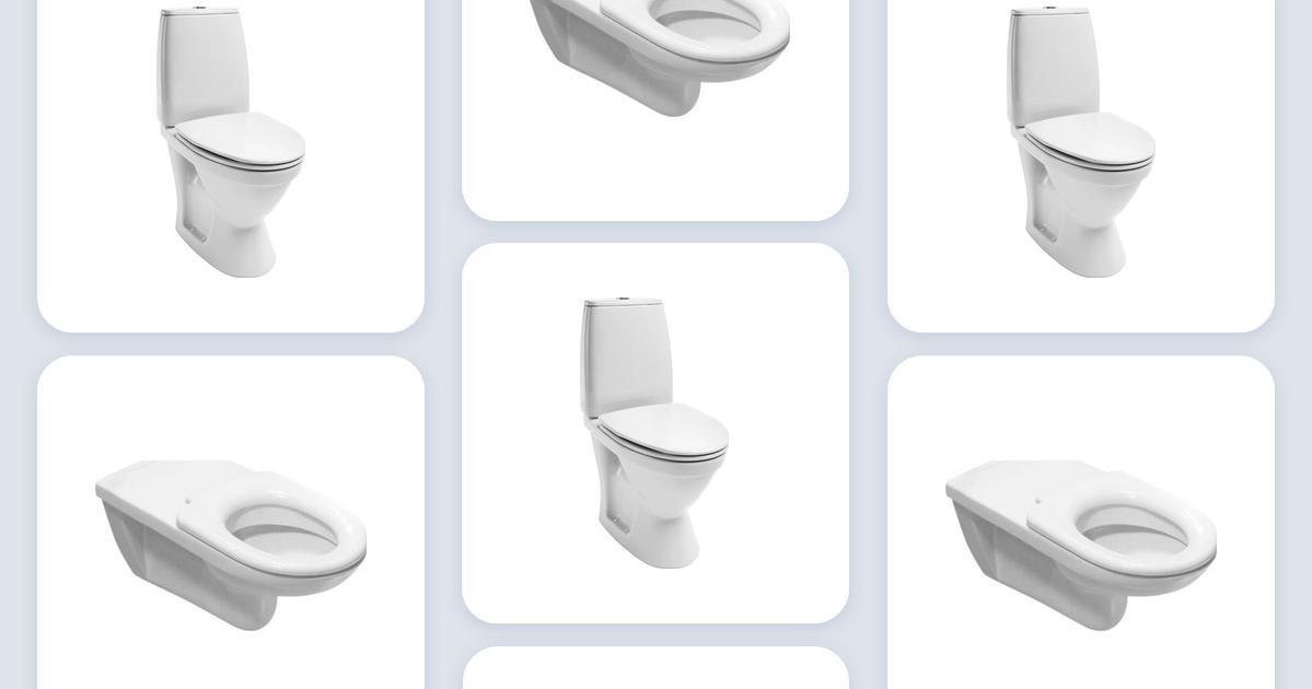 I test bedst toiletter Toilet med