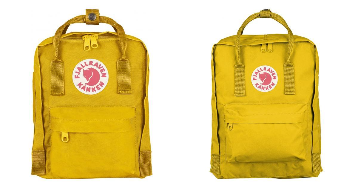 Lille rygsæk Sart gul DAME | H&M DK