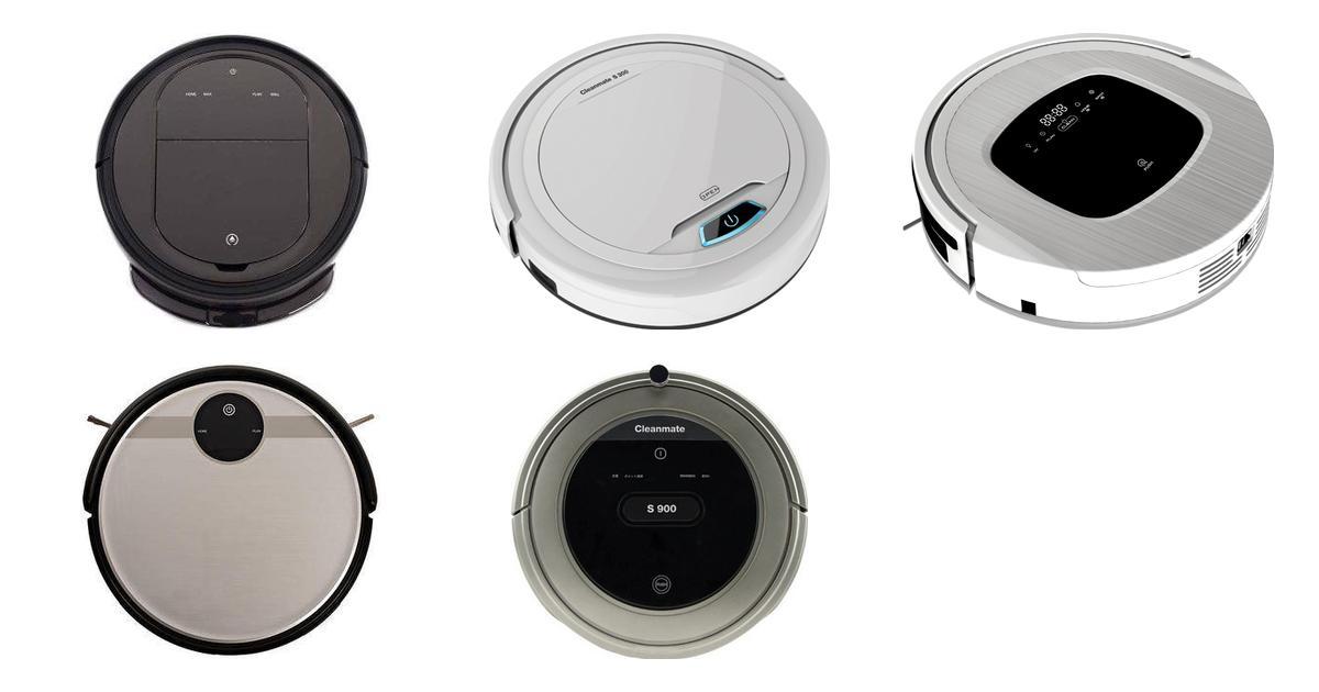 Cleanmate Robotstøvsugere (5 produkter) • Se billigste pris nu »