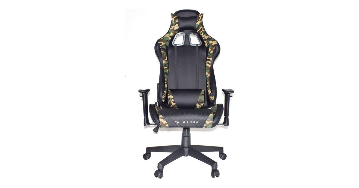Piranha bite gaming stol • Find billigste pris hos