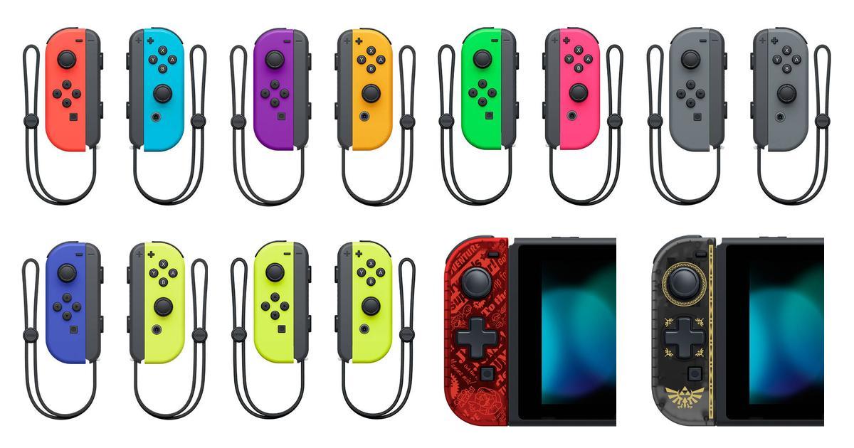 Joycon nintendo switch • Find den billigste pris hos