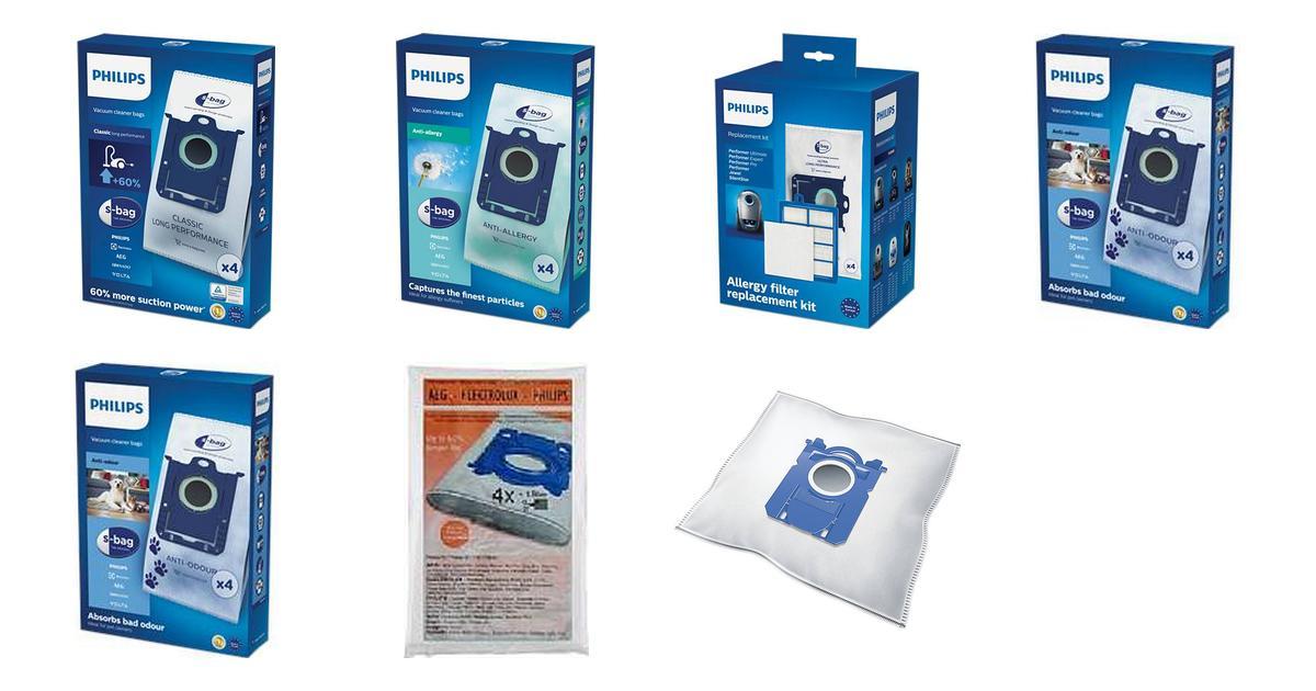 Philips Støvsugerposer (53 produkter) • Se billigste pris nu »