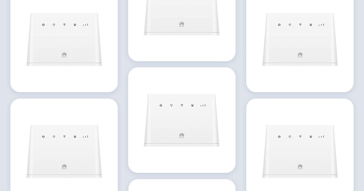 Huawei b311 221 4g router • Find billigste pris hos